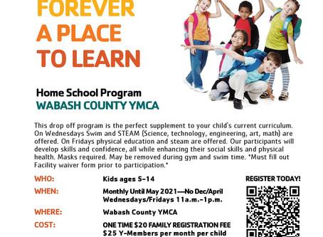 Now Offering Home School Program