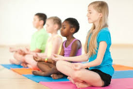 Quiet, Relaxed, & Still; Children in Meditation