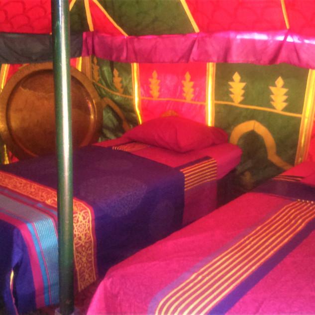lits tente marocaine