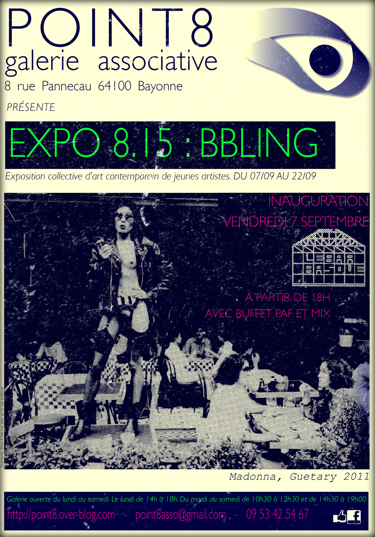 Affiche expo815