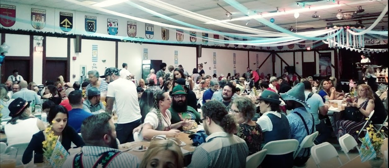 Oktoberfest in the Hall