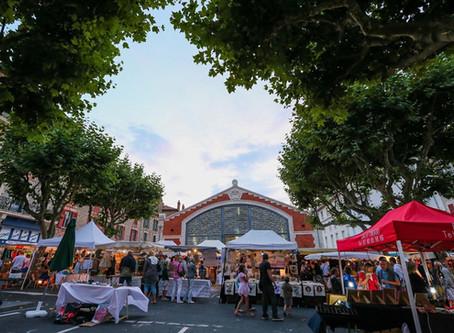 Marchés nocturnes aux Halles de Biarritz tous les mercredis de l'été