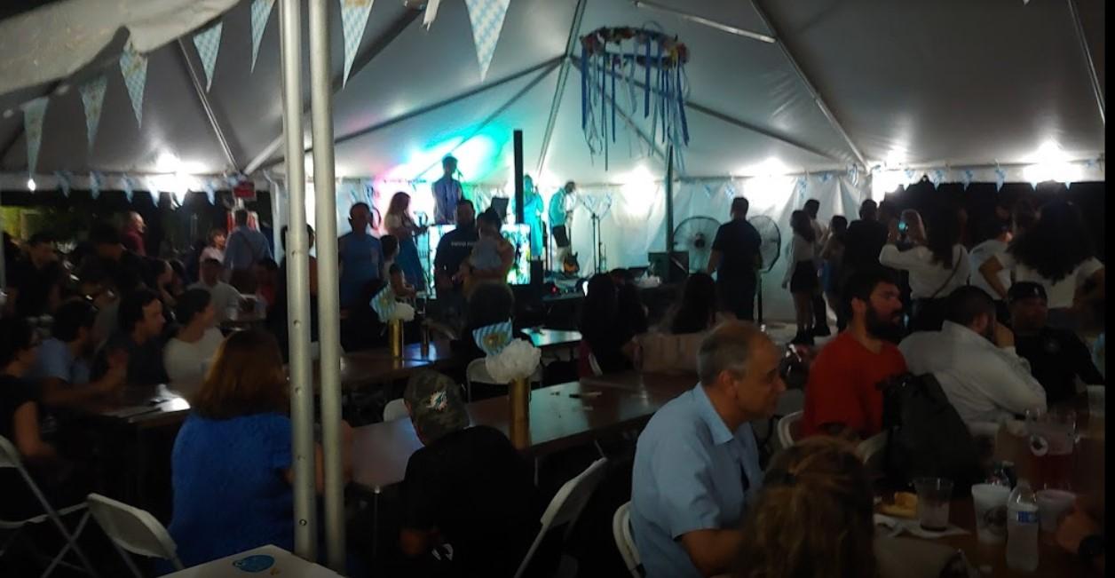 Oktoberfest in the Tent