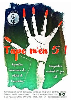 affiche tape men 5'