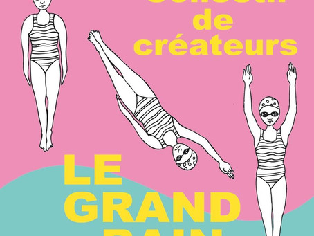 Corner M.A. CREATIONS à la boutique LE GRAND BAIN à Saint Jean de Luz