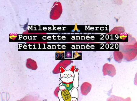 Bye Bye 2019 ! Coucou 2020 !