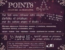 affiche Noël POINT8''''
