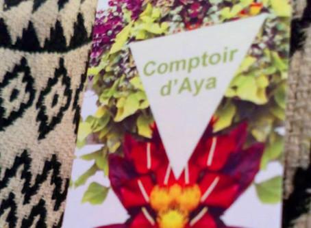 Le comptoir d'Aya, aussi pour les messieurs