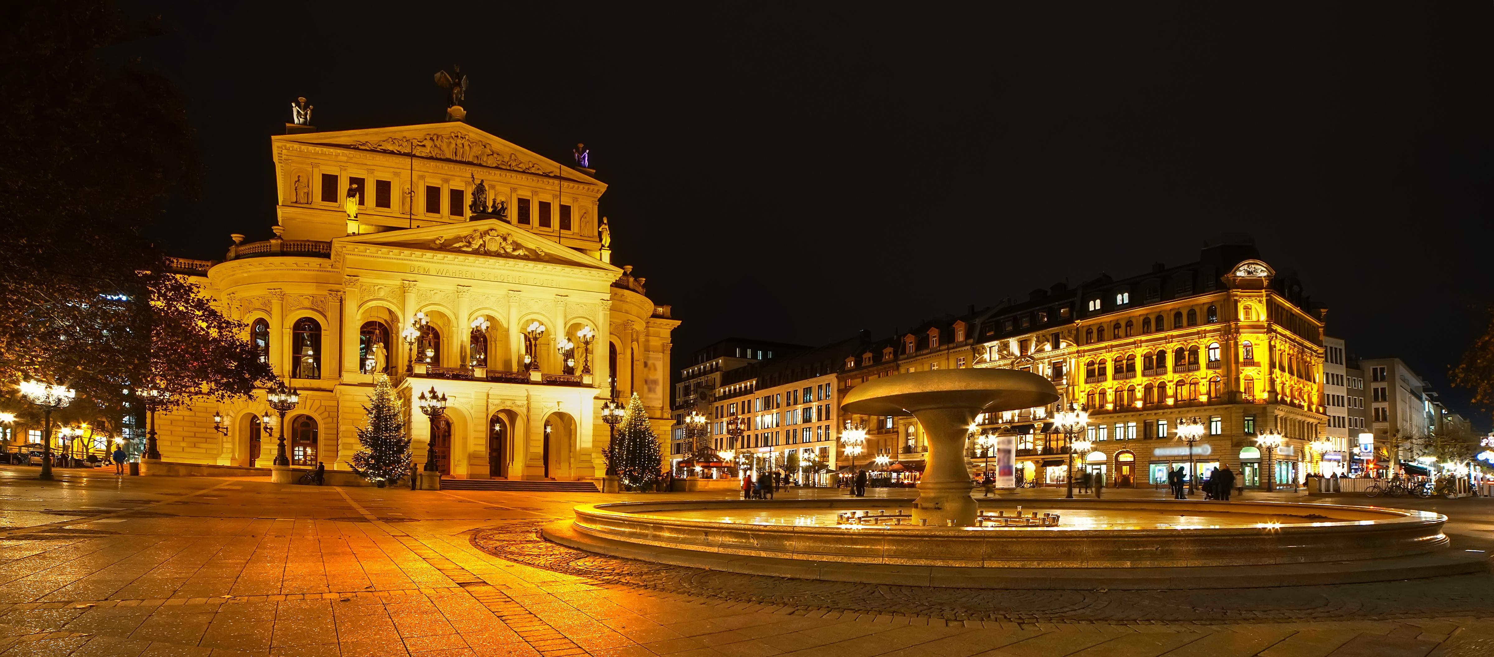 Frankfurt am Main Opeernplatz, Alte Oper und Fressgasse