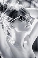 Portrait de femme en plein été
