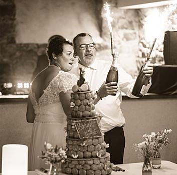 Pièce montée d'un mariage