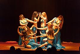 Danseuses orientale durant leur spectacle