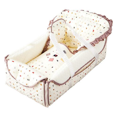 Infant Sleep Play Mat Cradle Set - Toys Pattern