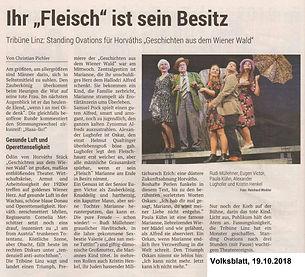 Geschichten aus dem Wiener Wald _ Volksblatt _19.10.2018