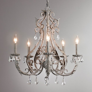 Palais Large Chandelier - Aged Metal