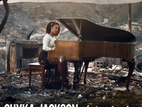 Beauty From Ashes: Filipinx Recording Artist Gives Emotional Performance on Bobcat Fire Ruins