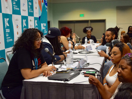 InRage Entertainment's KCON LA 2018 Panel Featured in LA Times
