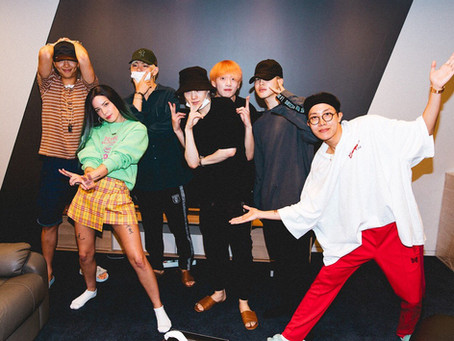 BTS Teams Up With Halsey On New Song 'Boy With Luv'