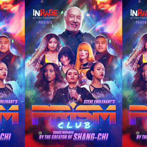 CREATOR OF MARVEL'S SHANG-CHI MAKES ALBUM WITH INRAGE ENTERTAINMENT
