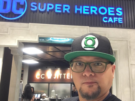 A Taste of Atlantis at DC Super Heroes Cafe