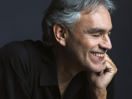 Andrea Bocelli Easter Sunday Special Streaming Concert