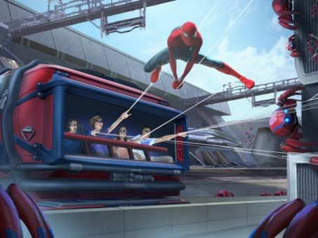 Shoot webs like Spider-Man in the new Disneyland Ride