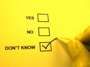 """Being indecisive has 5 """"Benefits""""?"""