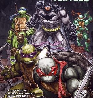 Turtles in Gotham!