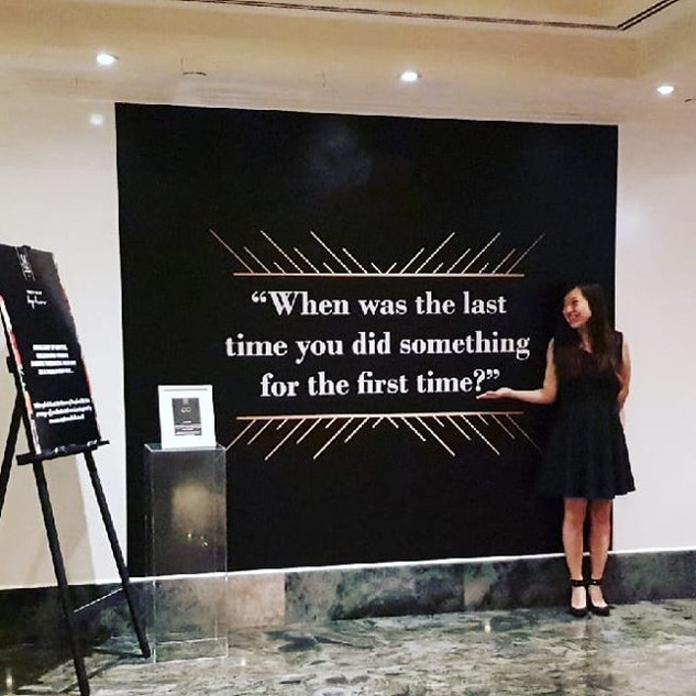 When was the last time you did something