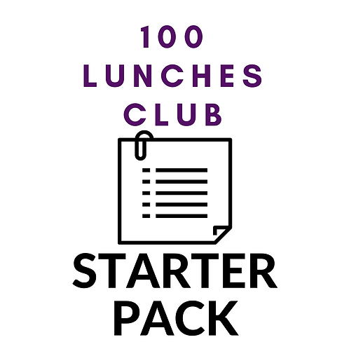 "100 Lunches Starter Pack (Use coupon code ""starter"")"