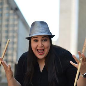 Zayra Pola Ocasio- (drummer/Vocalist)