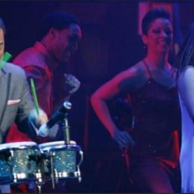 Playing with Gilberto Santa Rosa