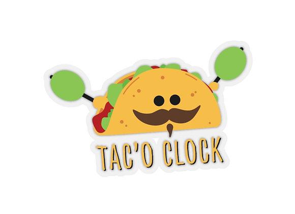 Kiss-Cut Taco Sticker