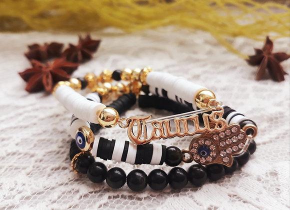 18k Gold Plated Taurus Bracelets