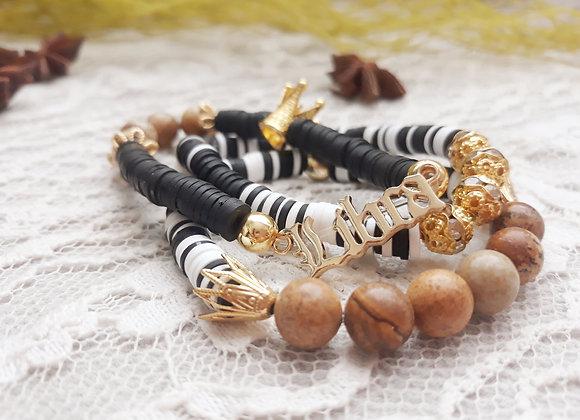 18k Gold Plated Libra Bracelets