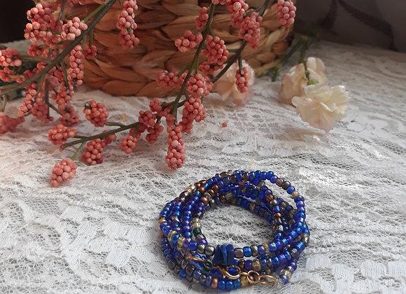 """""""River"""" waist beads"""