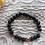 Thumbnail: Rose Gold Hematite and Lava Stone Aromatherapy Bracelet