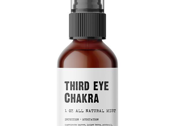 Third Eye Chakra Meditation Mist