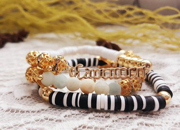 18k Gold Plated Capricorn Bracelets
