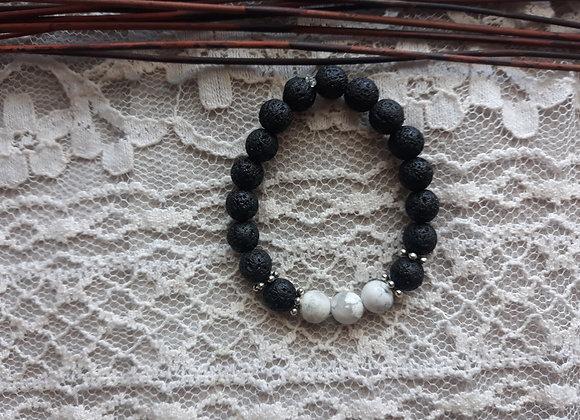 Howlite Aromatherapy Bracelet