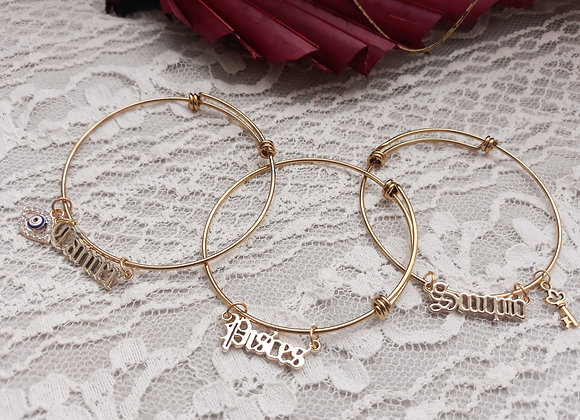 14k Gold Plated Bangles