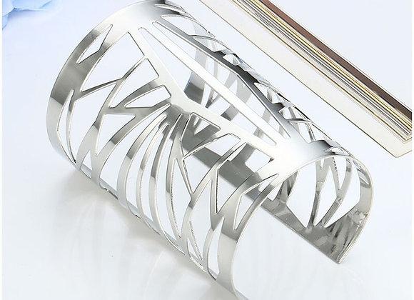 Exknl Bracelets & Bangles-Ethnic Cuff Bracelet for Women