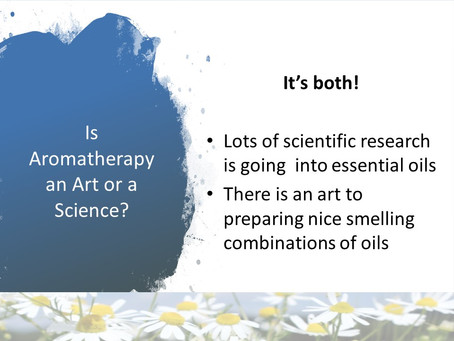 Is Aromatherapy a Science or an Art?