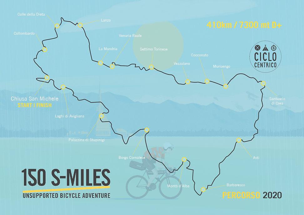 150 S-Miles ADVENTURE 2020_Grafica Tracc