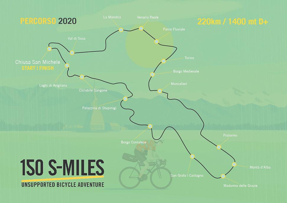 150 S-Miles GRAVEL 2020_Grafica Traccia-