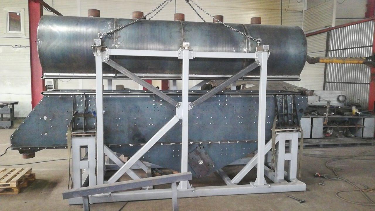 Изготовление сушильного агрегата 20 т/ч