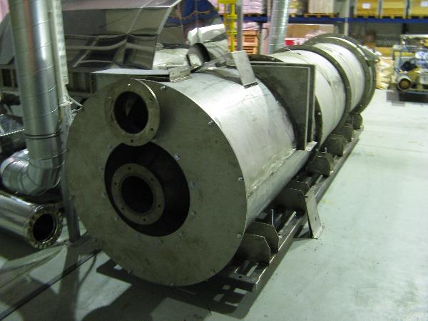 Система разогрева инертных газов