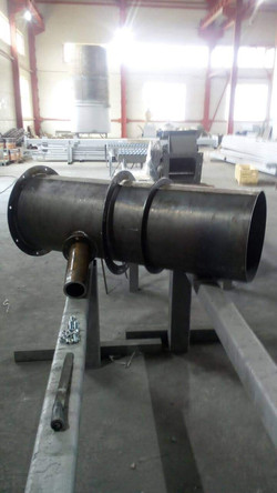 Бункерный модуль разгрузки