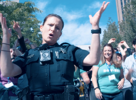 Has The Boise PD Created The BEST Police Lip Sync Challenge Video?