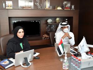 """محمد بن سليّم يشارك في اجتماع """"تنفيذي"""" اللجان الأولمبية الخليجية"""